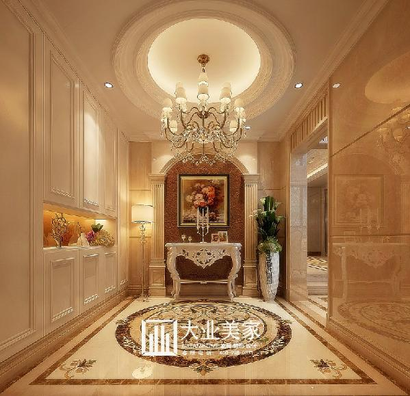 郑州大业美家装饰-橄榄城伍号院-317平别墅效果图