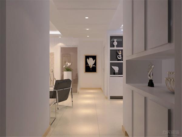 本案为奥克斯盛世年华两室两厅一厨一卫96.68平方米,本次方案定义为现代简约风格,现代风格外形简洁、功能强,强调室内空间形态和物检的单一性、抽象性。