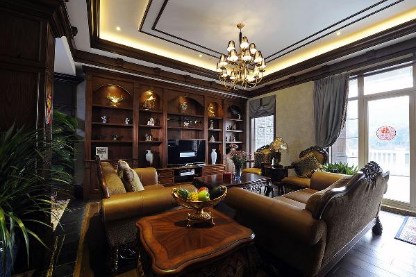 家庭厅实景图
