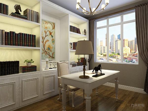 主卧和书房的墙面通铺壁纸,给人一种安静祥和的感觉,让人心旷神怡。