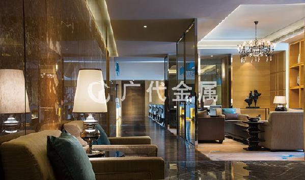 不锈钢装饰工程案例-天津京基皇冠假日酒店