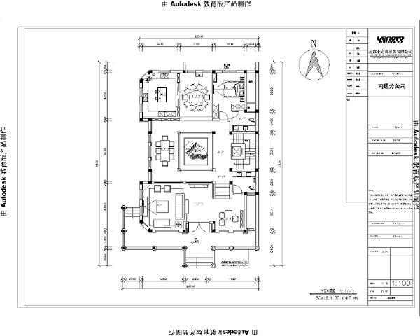 一楼平米方案图