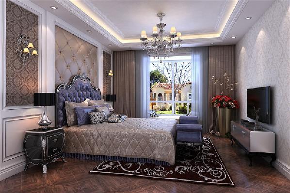 主卧室:主卧室增加步入式衣帽间解决风水直冲卧室问题提升空间使用率及生活品质