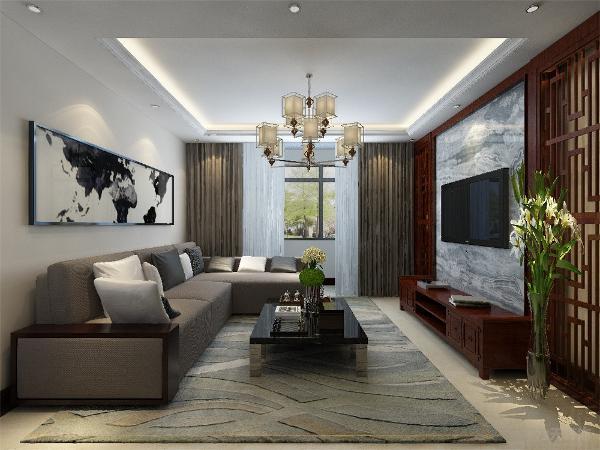 本案是雅仕兰庭106平米三室一厅一厨一卫。只是在房屋原有的构造的基础上进行了设计。采用风格是现代。