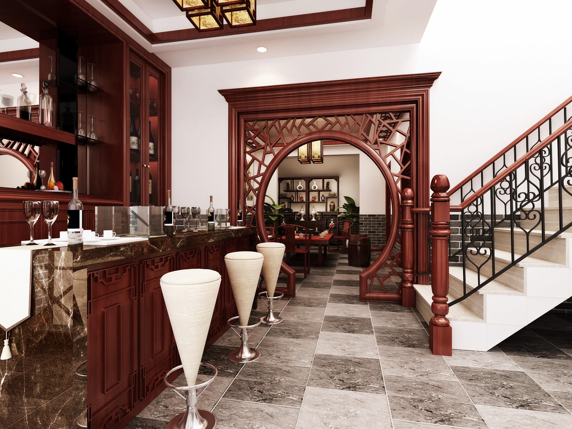 别墅 旧房改造 小资 收纳 白领 混搭 简约 田园 三居 餐厅图片来自北京居然元洲装饰在牛驼孔雀城230平简欧混搭风格的分享