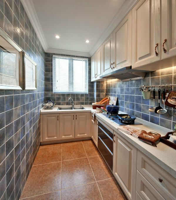 欧式 别墅 厨房图片来自上海家研装饰设计有限公司在法式独立别墅的分图片