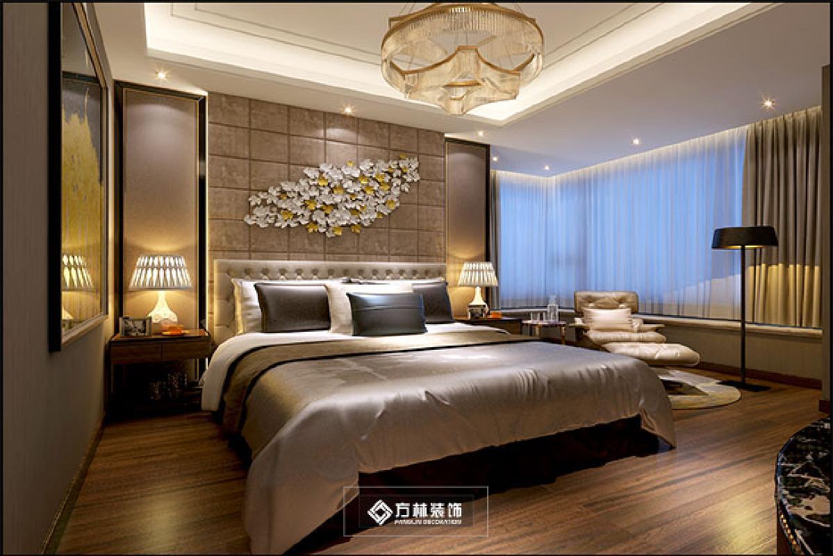 沈阳新民蓝湾一品300平米港式别墅装修-方林装饰别墅苑京华图片