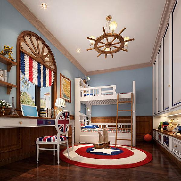 航海探险奇趣儿童房