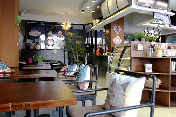 厅工业风格混搭吧台实木墙绘其他装修效果图片 装修美图 新浪装修家