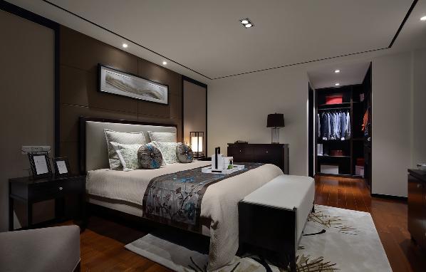 主卧,主卧空间,睡眠区、衣帽间、内卫一应俱全,相辅相成;