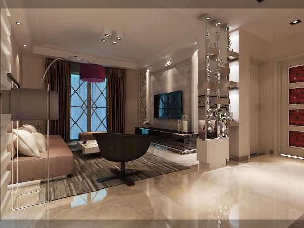 欧式客厅的顶部喜用大型灯池,并用华丽的枝形吊灯营造气氛,墙面用壁纸或者乳胶漆,以烘托豪华效果。