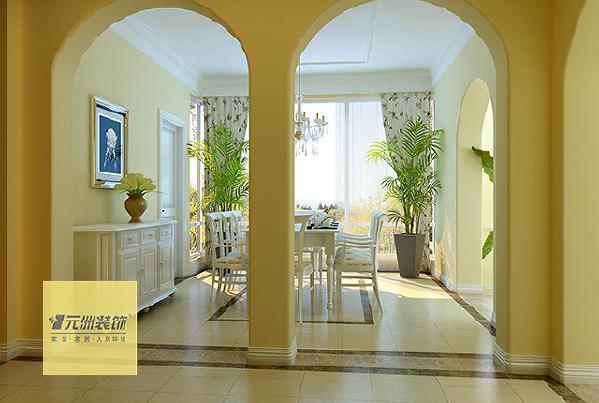 门厅:利用原始结构做一个代表性很强的玄关,和衣帽柜,这样是为了使门厅更加的完整,同时也提升了局室的品质