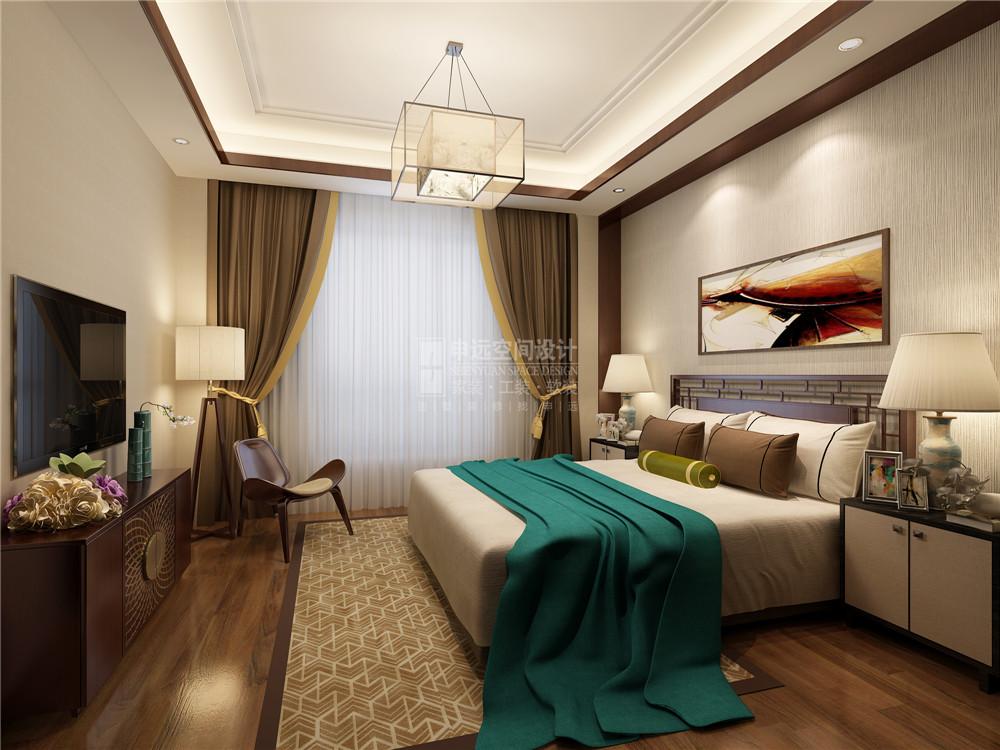 尼德兰花园 尼德兰官邸 申远 张咏 四居 公寓 中式 新中式 装修 卧室图片来自用户5616949510在尼德兰官邸  新中式风的分享