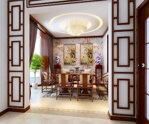 餐厅:有点江南中式风格,素雅。