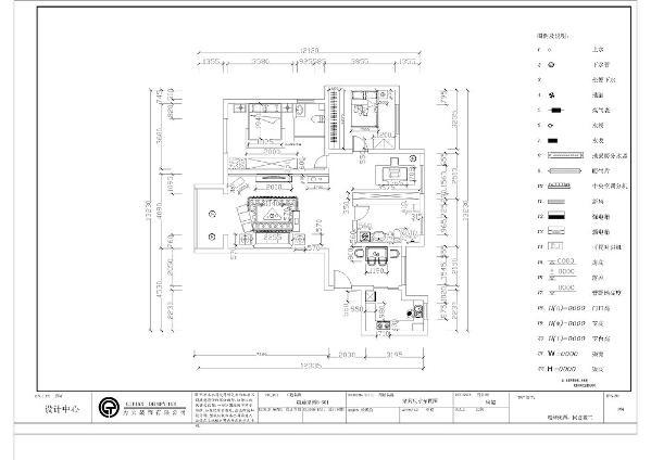 从布局上看整个房间的过道位置过于狭长,主卧主要分布在左边方向,主卧包含一个主卫,书房与儿童房相邻。从整体上看,空间布局做到了人性化安排,很合理。