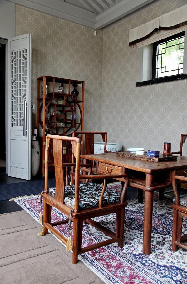 茶室、博古架