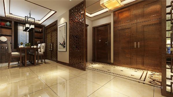 一进入户门左侧便是客厅的位置厅的设计只是做了简单的处理