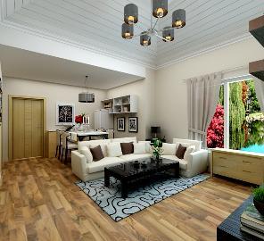 两室两厅90平北欧简约荔城公馆