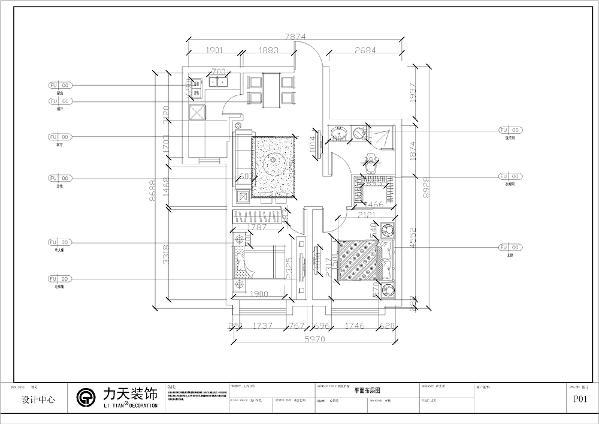 整个空间划分明确,可利用率很高,便于设计和做生活中必备的造型。接着是次卧室,次卧紧挨着卫生间和主卧,非常便于业主生活,整个空间布局合理,采光非常好,两个卧室有配有窗户。