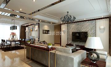 国赫红珊湾四居室现代风格案例