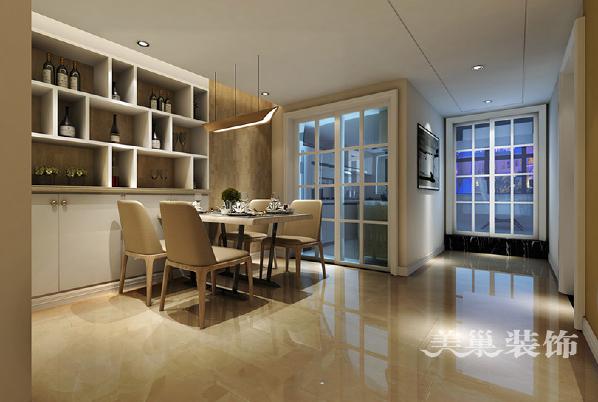 宜家美景装修样板间效果图复式120平现代简约风格——餐厅效果图