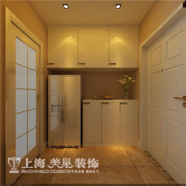 普罗旺世89平方两室两厅现代简约装修样板间-门厅装修效果图
