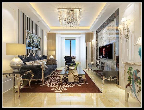 采用更为明快清新的颜色,既保留了古典欧式的典雅与豪华,又更适应现代生活的悠闲与舒适