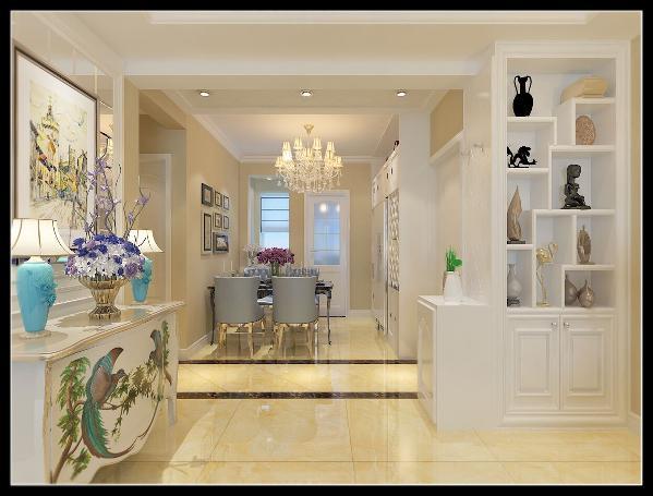线条有的柔美雅致,有的遒劲而富于节奏感,整个立体形式都与有条不紊的、有节奏的曲线融为一体。大量使用将玻璃、瓷砖等新工艺,以及陶艺制品等综合运用于室内。