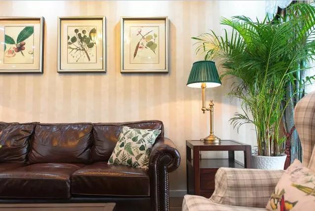 美式 田园 三居 混搭 小资 客厅图片来自实创装饰上海公司在128㎡美式田园风大三居的分享