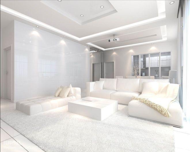 装修 客厅 纯白 打造 空间 设计图片来自北京大成日盛在纯白客厅装修