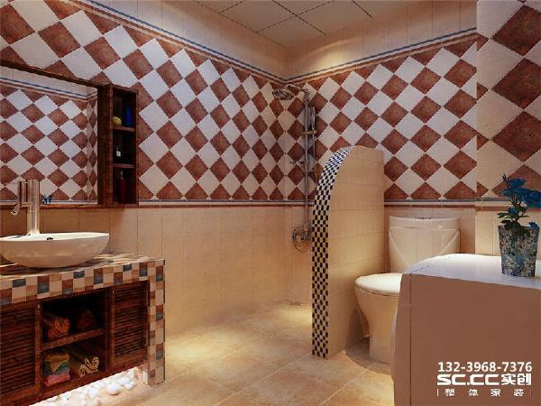 设计 理念地砖仿石材切割上墙 比较有层次。 主材 说明马可波罗 箭牌
