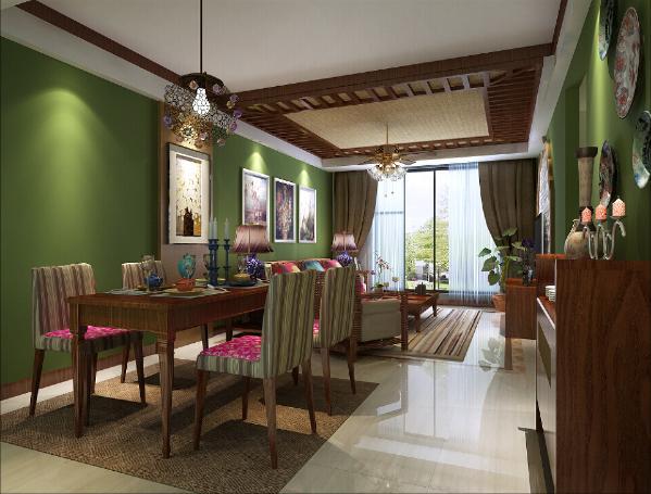 色彩上,以温馨淡雅的中性色彩为主。
