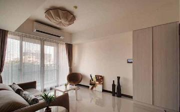 69平米简约风格一室一厅装修