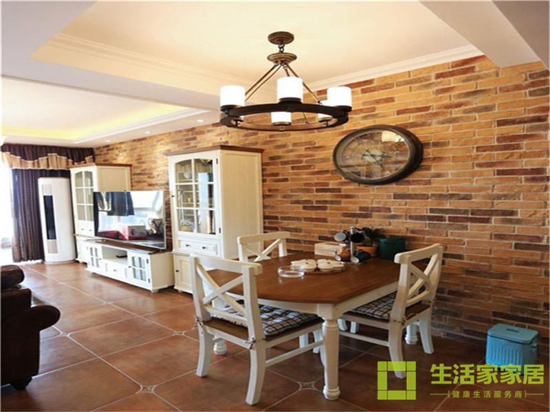 二居 80后 小资 混搭 美式乡村 高层 白领 生活家家居 餐厅图片来自天津生活家健康整体家装在诺德中心122的分享