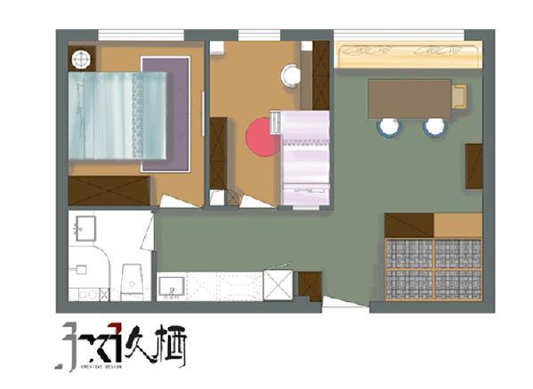 房间平面布置图
