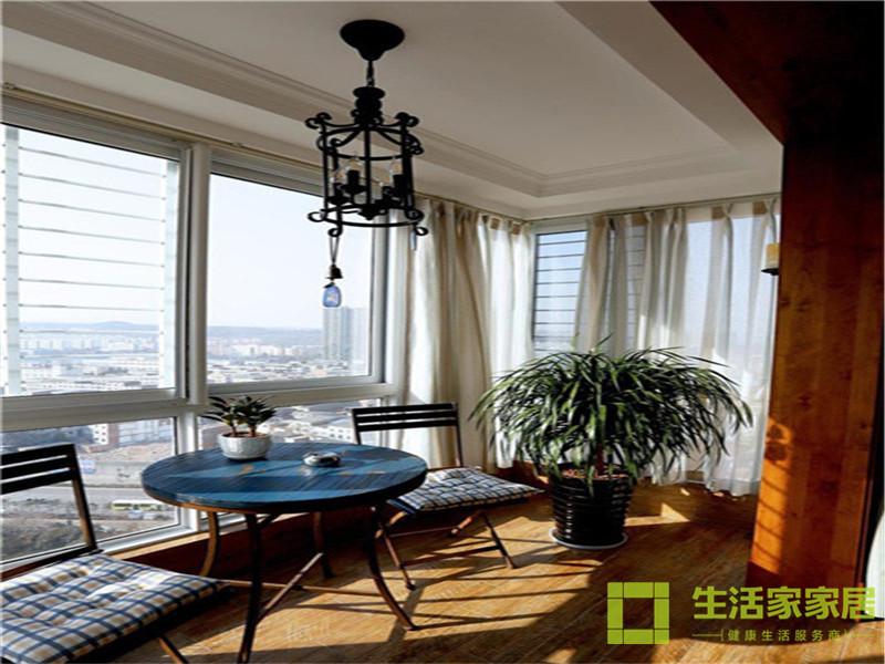 二居 80后 小资 混搭 美式乡村 高层 白领 生活家家居 阳台图片来自天津生活家健康整体家装在诺德中心122的分享