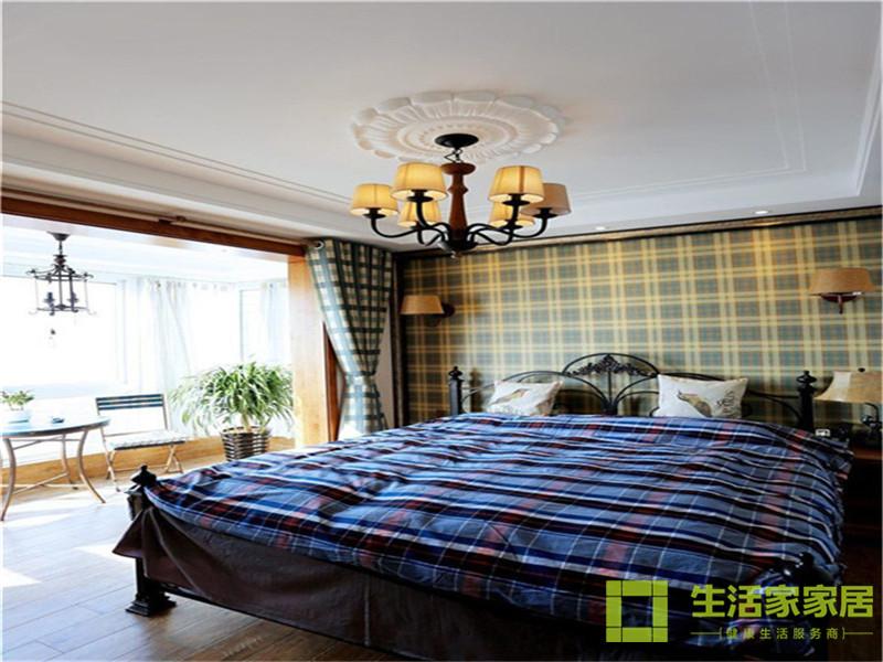 二居 80后 小资 混搭 美式乡村 高层 白领 生活家家居 卧室图片来自天津生活家健康整体家装在诺德中心122的分享