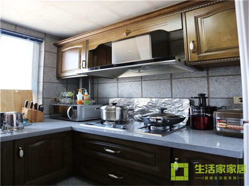 二居 80后 小资 混搭 美式乡村 高层 白领 生活家家居 厨房图片来自天津生活家健康整体家装在诺德中心122的分享
