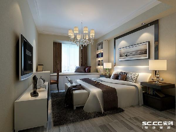 设计理念:简化的颜色处理,使整个空间更清新明亮 主材说明:地板:卢森 墙漆:福乐阁
