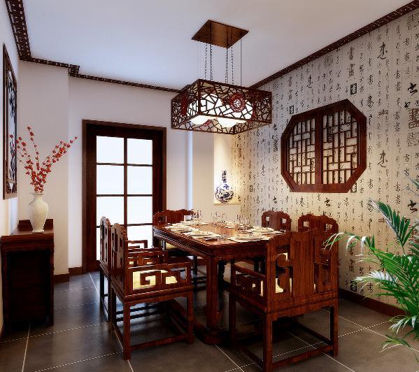 餐厅:在材质选择上多倾向于较硬、光挺、华丽的材质。餐厅基本上与厨房相连,厨房的面积较大,操作方便,功能强大。
