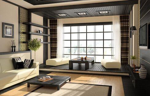 日式家居装修设计效果图