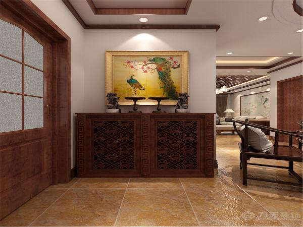中式风格是以宫廷建筑为代表的中国古典建筑的室内装饰设计艺术风格,气势恢弘、壮丽华贵。