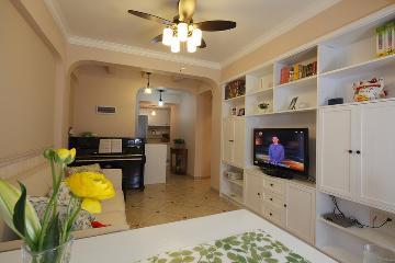67平米美式风格两室一厅设计