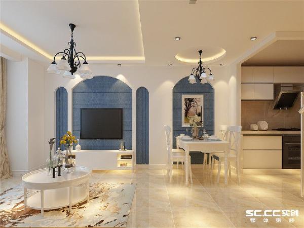 在室内,窗帘、 桌巾、沙发套、灯罩等均以低彩度色调和棉织品为主。也是地中海风格独特的美学产物。
