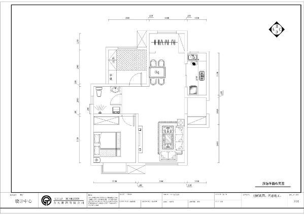 进入入户门左手边是本户型的客厅区,右手边是餐厅区和厨房,厨房和餐厅的距离相离很近,方便用餐。而且客餐厅两面都有窗户,采光较好,阳台区域可供业主晾晒衣物。