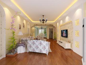 田园风格,暖色调 品质三居室