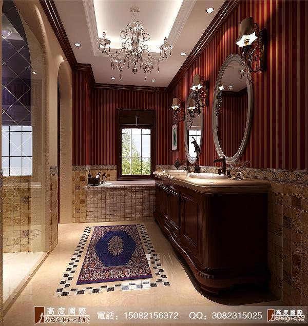 恒大金碧天下卫生间细节效果图---成都高度国际装饰设计
