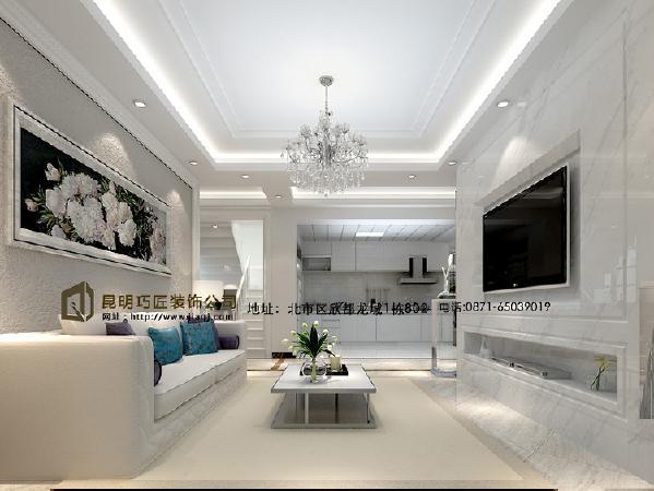 客厅的整体布局合理,有效运用了各个空间,给人温馨不失舒适的感觉