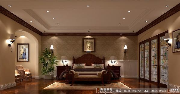 恒大金碧天下卧室细节效果图---成都高度国际装饰设计
