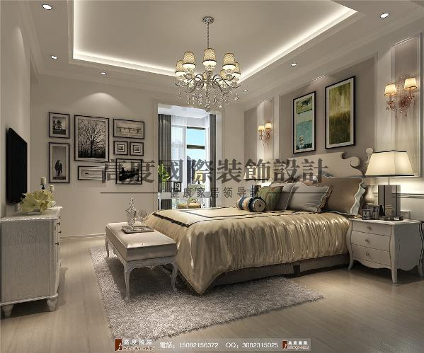 红树湾卧室细节效果图---成都高度国际装饰设计